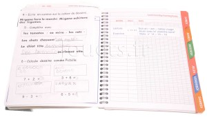 cahier ecole